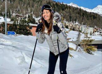 Elisabetta Gregoraci Instagram: una perfetta sciatrice