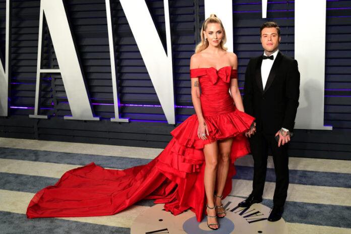 Chiara Ferragni e Fedez brillano alla notte degli Oscar 2020