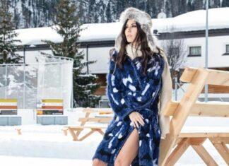 Elisabetta Gregoraci Instagram: foto sexy sulla neve - Il suo outfit è veramente provocante