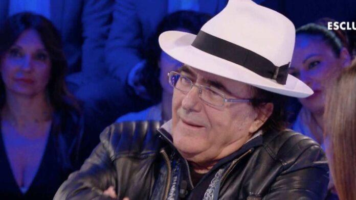 Albano Carrisi papà apprensivo