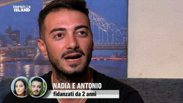 Antonio Giungo allibito da Nadia